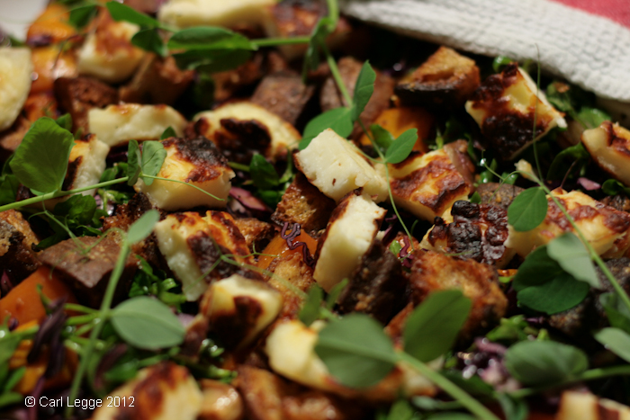 Winter Panzanella Recipe – Bread Salad » Carl Legge