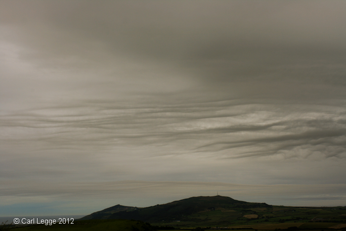 Llŷn Peninsula Cloud Waves looking SW