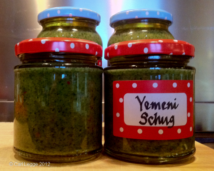 Yemini Schug in jars