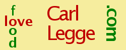 Carl Legge love food logo