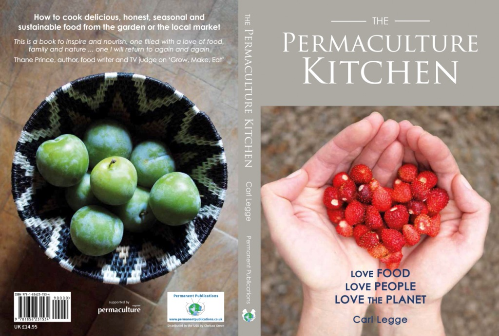 The Permaculture Kitchen front & back cover